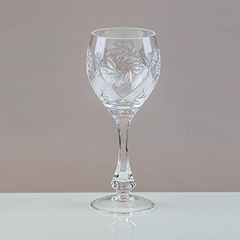 Victoria CRYSTAL Thistledown calici da vino, 24% cristallo al piombo