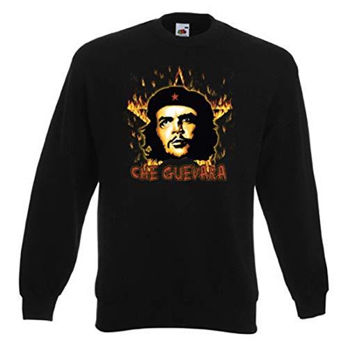 Art & Detail Shirt Sweater: Che Guevara mit Flammenstern