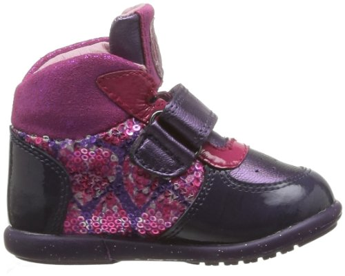 Agatha Ruiz de la Prada Romane, Chaussures premiers pas bébé fille Bleu (A Lombarda Charol/Metal Cris)