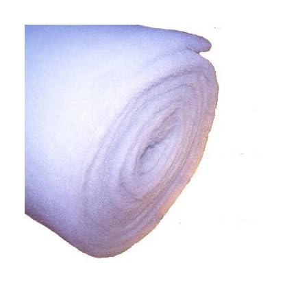 3 Metre of 10-12 mm 71cm wide Thick Pond Filter Wool Koi Carp Pump Aquarium Pond Filter Media Medium Wool Floss 1