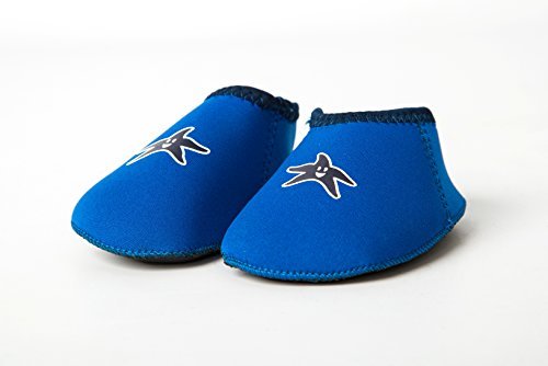 Shore Feet Padder Shoes Blue (Size M (12 - 18 months))