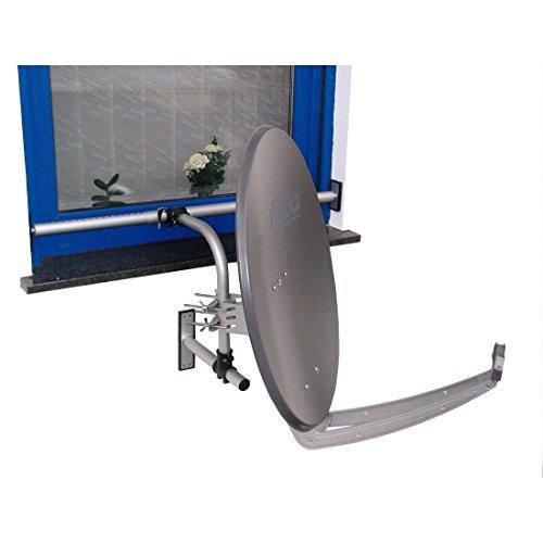 fensterhalterung selfsat Kabel-Tec-Hauch Easymount DIY 1 Halterungssystem für Satellitenantennen