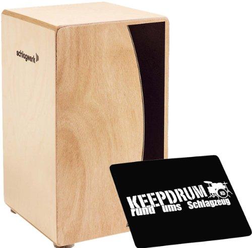 Schlagwerk CP 550 Cajon Agile Base Natur + Keepdrum Sitzpad CP-01 GRATIS!
