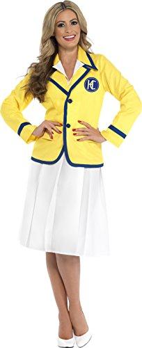 Smiffy's 43413M - Ferien Rep Weibliche Kostüm mit Jacke und Faltenrock (Ferien Party Kostüme Ideen)