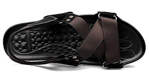 Hommes Canvas Sangles Set Toe Sandals main Plein air 1
