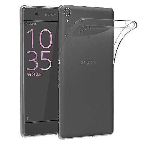 Sony Xperia XA Hülle Case, AICEK [Ultra-Clear] Xperia XA Case Silikon Soft TPU Crystal Clear Premium Durchsichtig Handyhülle Schutzhülle Case Backcover Bumper Slimcase für Xperia X