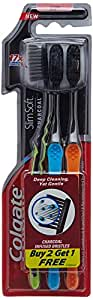 Colgate Toothbrush Slim Soft Charcoal (Buy 2 Get 1)