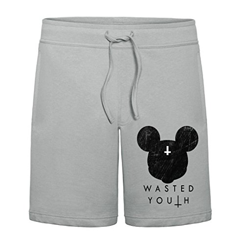 Wasted Youth (Wasted Youth Dead Mickey Mouse Mens Shorts XX-Large)