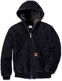 Carhartt Sandstone actifs Vestes à capuche Sherpa EJ004, couleur:noir;pointure:XXL