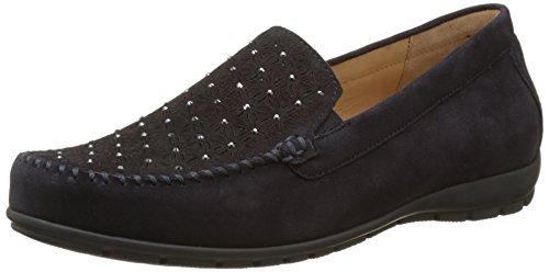 Gabor Shoes Damen Comfort Mokassin, Blau (Pazifik 26), 38.5 EU