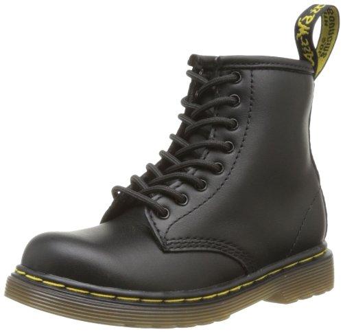 Dr. Martens Brooklee, Boots mixte bébé Noir (Black Softy T)