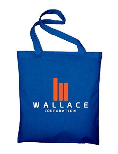 Wallace Corporation Logo Blade Runner Fan Jutebeutel Royalblau