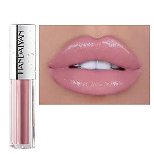 Lippenstift TTLOVE Wasserdichte Langlebige Lipgloss FlüSsige Samt Liquid Lipsticks, Matte Makeup Lip Farben FlüSsigkeit HäLt Sehr Lange Lipstick -