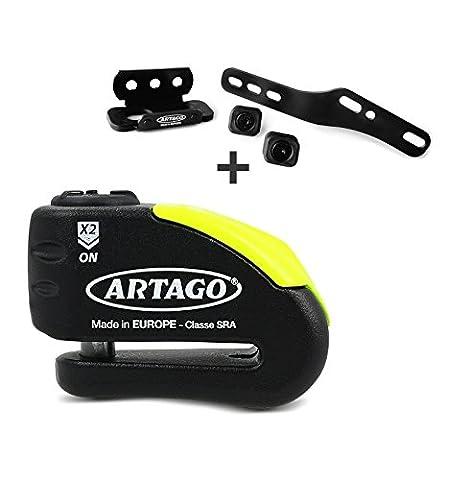 Disc brake lock Aprilia Caponord 1200 13-17 Artago 30x + Mounting kit K402