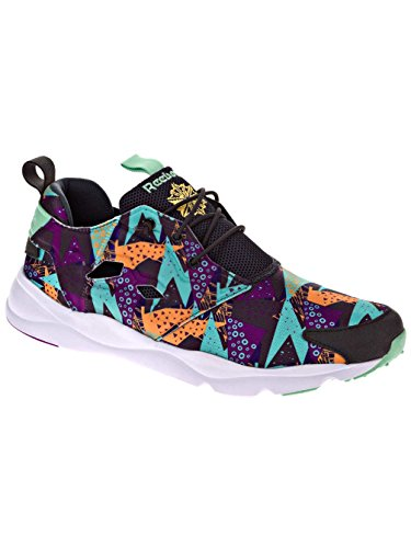 Reebok Furylite Graphic chaussures gris turquoise violet