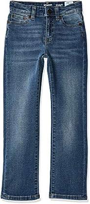 Amazon Essentials Boys' Slim-Fit Jeans, Doppler/Light Wash, 6