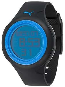 Puma Time Active Herrenuhr SPIN GENTS BLACK BLUE A.PU910441006