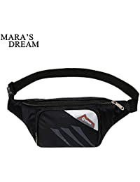 Buyworld Mara's Dream Waist Bag Men Women Nylon Fanny Pack Male Casual Travel Waist Pack Portable Money Belt Travel...