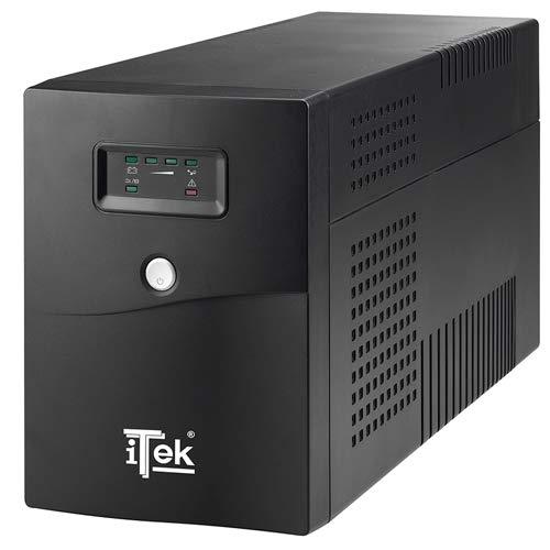 Itek ITUWP2K Gruppo di Continuità UPS, Nero