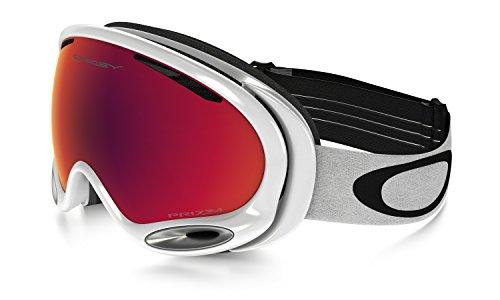 Oakley Uni Skibrille A Frame 2.0 Sportbrille, Weiß (Polished White/Prizmtorchiridium), 99