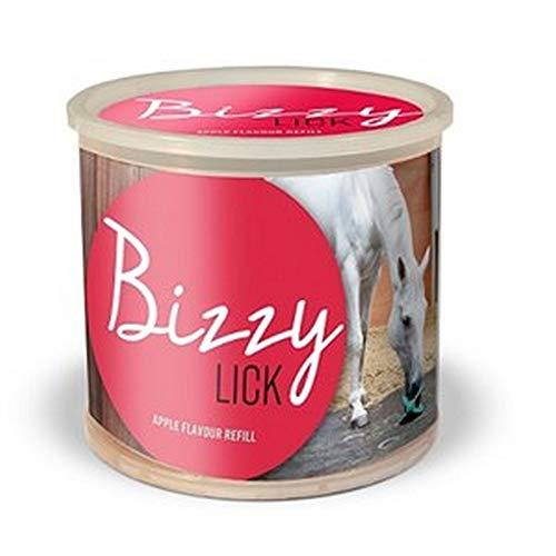 Bizzy Bites Pferde Leckstein Spielzeug Nachfüllung (Einheitsgröße) (Apfel)