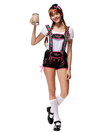 Bayerische Lady Kostüm - Womens deutsche Dirndl Oktoberfest Kostüm bayerische