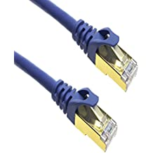 apfamli Cable de red cat7 SSTP/RJ45 Cable de conexión Ethernet – 10 Gigabit/SEG alta velocidad Lan & Red de Internet de banda ancha y CABLE de ordenador con módem router & interruptor