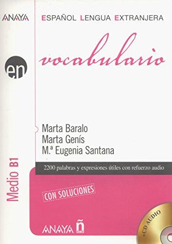 Nuevo Sueña: Vocabulario. Nivel Medio B1 (Anaya E.L.E. En - Vocabulario - Nivel Medio (B1)) por Marta Baralo Ottonello