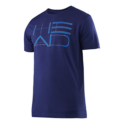 head-transition-duke-graphic-t-shirt-pour-homme-xxl-azul-marino-nv