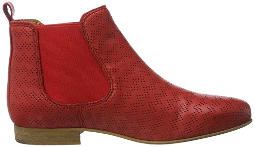 Apple of Eden Damen Manon Chelsea Boots Rot (Red)
