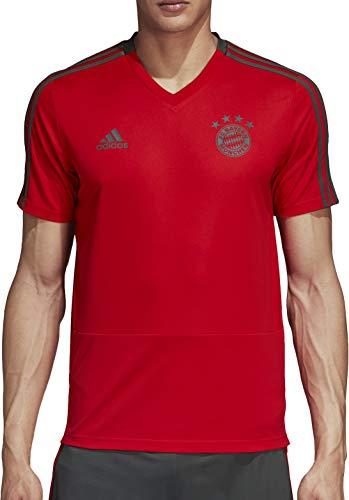 FC Bayern München adidas Trainingstrikot Herren / Fußball Shirt rot / Größe L -