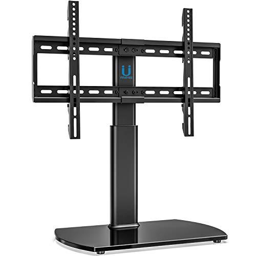 FITUEYES Soporte Giratorio de TV de 32-65 Pulgadas Altura Ajustable Soporte de Mesa para TV LCD LED...