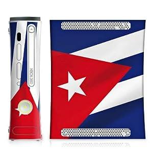 DeinDesign Microsoft Xbox Folie Skin Sticker aus Vinyl-Folie Aufkleber Kuba Flagge Fahne