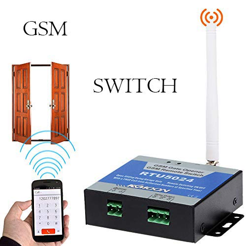 KKmoon GSM Apriporta Door Opener Interruttore Remoto di On / Off Call SMS Gratis Comando Sopporta 850/900/1800/1900MHz