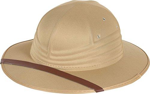 ylon Filz Tropen- Explorer Zoo Aufpasser Safari Helm Hut ()