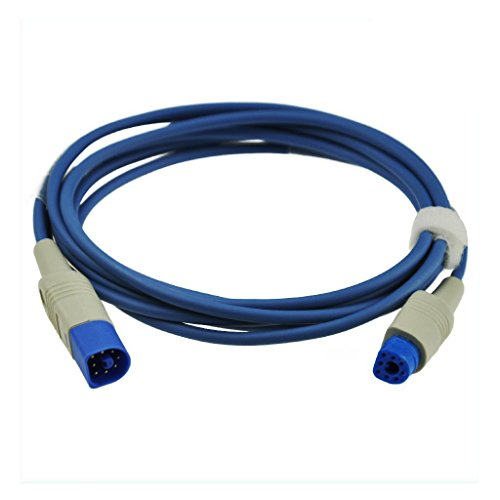 Medke Compatible for HP Philips M1941A SpO2 Extension Cable Pulse Sensor 8  Pin 7 2 ft FDA/CE Approved