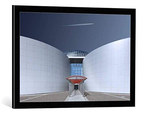 cuadro-con-marco-markus-kuhne-steel-and-sky-impresion-artistica-decorativa-con-marco-de-alta-calidad