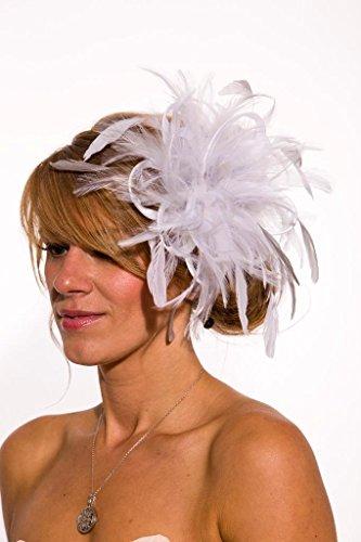 Maighread Stuart Millinery - Bandeau - Femme Multicolore - Blanc/gris