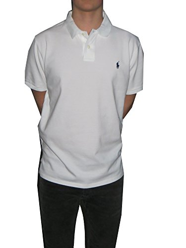 Ralph Lauren Polo - Herren Polo - Weiß - Classic Fit (Weiß, XXL) - Shirt, Classic-fit Lauren Ralph