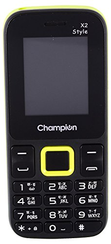 Champion X2 STYLE (Dual Sim, Green)