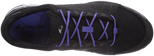 Viking - Skog W Gtx, Scarpe da Trail Running Donna Nero (Schwarz (Black/Purple 216))