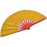 Abánico Tai Chi (Tai Ji Shan) bambú - Diestro, Dorado