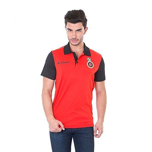 Royal Challengers Bangalore (RCB) Solid Men's Polo Neck T-Shirt - IPL17