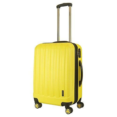 Packenger 501/24-003P-11 Koffer, 62 cm, 60 Liter, Lemon-Gelb