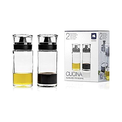 Leonardo - Essig und Ölspender - Cucina - 2er Set