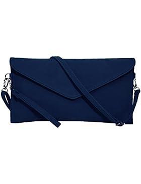 Jieway Frauen Faux Suede Abend Clutch Tasche Schulter Handtasche Messenger Umschlag Taschen