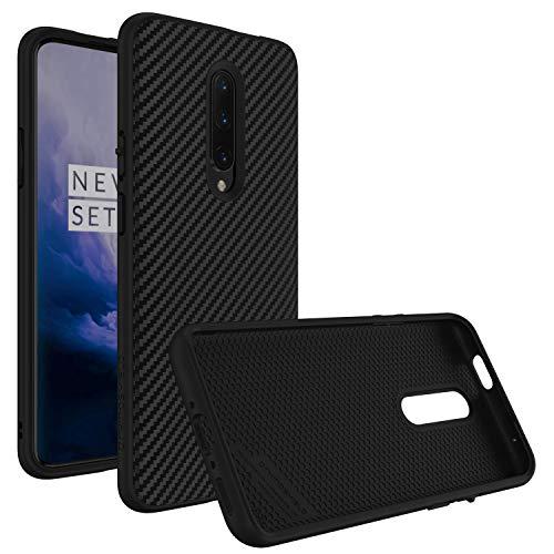 RhinoShield Coque pour OnePlus 7 Pro [SolidSuit] Housse Fine avec Technologie Absorption des Chocs & Finition Premium - [Résiste aux Chutes de Plus de 3,5 mètres] - Finition Fibre de Carbone