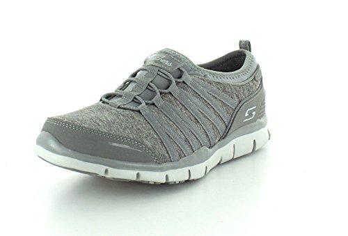 Skechers Damen GratisShake-It-Off Sneakers Grau