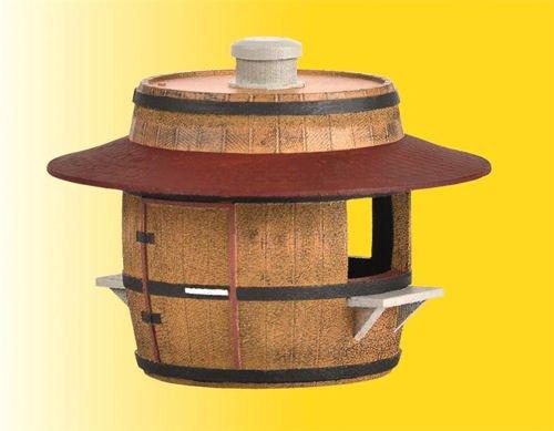 H0 Verkaufsstand Bier und Wein, Modellwelten Bausatz 1:87, Kibri 38673