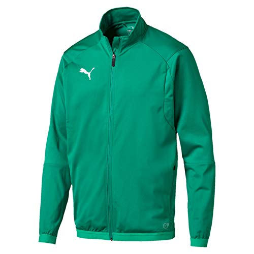 PUMA Herren Liga Training Jacke, Grün (Pepper Green-puma white), M